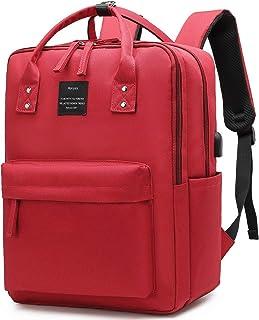 Laptop Backpack 15.6 Inch Waterproof College Bag School Daypack Bookbag for Women Men