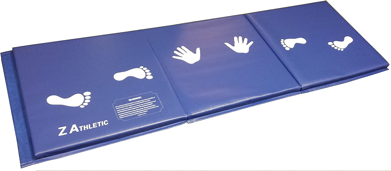 Z-Athletic 6'x2'x1.5 Gymnastics Training Folding Mat