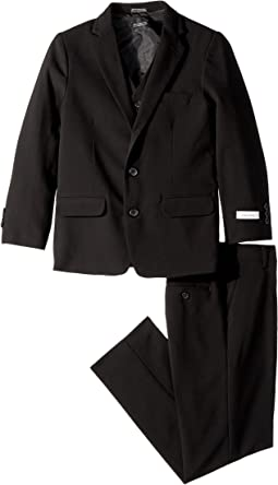 Calvin Klein Kids - Bi-Stretch Three-Piece Suit (Big Kids)