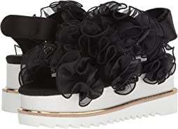 Chiffon Ruffle Detailed Platform
