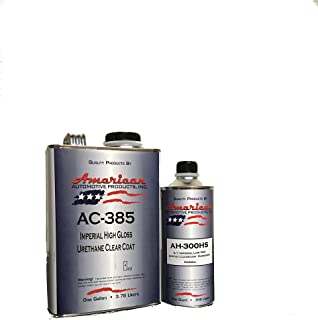 AC-385HS Automotive 2K Urethane Clear Coat Gallon Clearcoat Kit Normal Activator