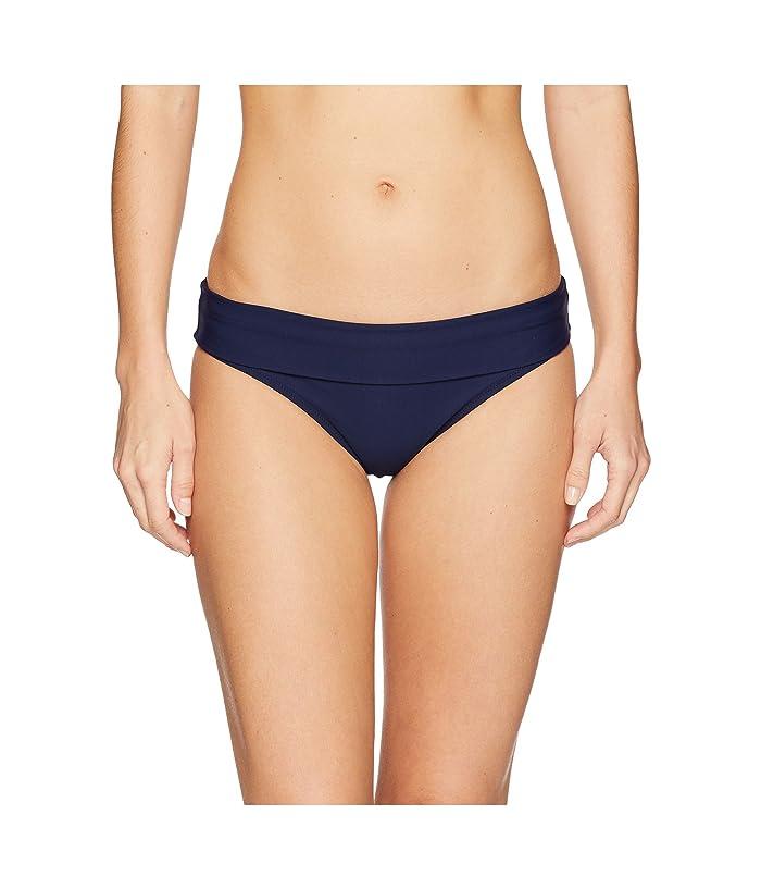 Heidi Klein Body High-Rise Fold Over Bottoms (Navy) Women
