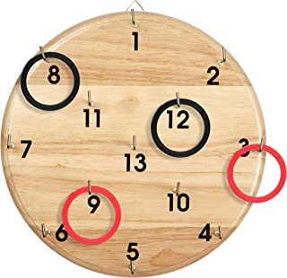 SPORT BEATS Ring Toss Ring Games for All Ages Outdoor Indoor Backyard Game-Can Choose Rings Replacements Only