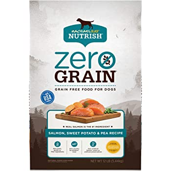 Rachael Ray Nutrish Zero Grain Dry Dog Food with Real Meat, Grain Free