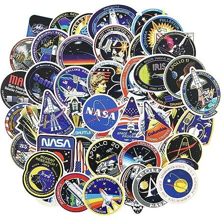 Space Astronaut Yoga Meditation Sticker Vinyl Bumper Sticker Decal Waterproof 5