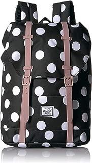 Kids' Retreat Youth Children's Backpack, Polka Dot/Ash Rose, One Size