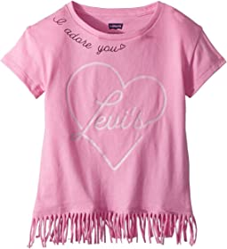 Levi's® Kids - Fringe Knit Tee (Little Kids)