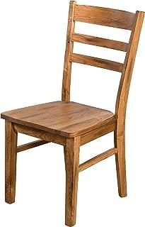 Sunny Designs Ladderback Chair, Rustic Oak Finish