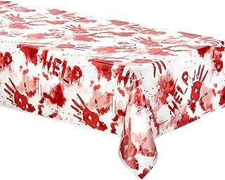 Amscan Asylum Bloody Tablecover Plastic