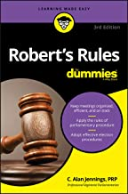 Download Robert's Rules For Dummies PDF