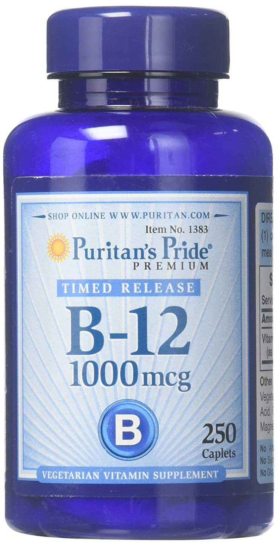 リゾート短命迷路ピューリタンズプライド(Puritan's Pride) ビタミンB-12 ENER-B R 1000 mcg.タブレット