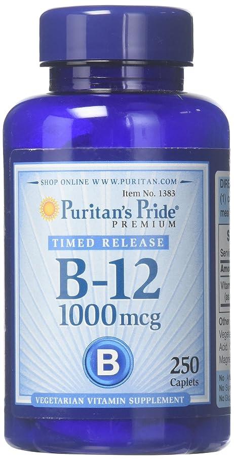 聖人テニスパイロットピューリタンズプライド(Puritan's Pride) ビタミンB-12 ENER-B R 1000 mcg.タブレット