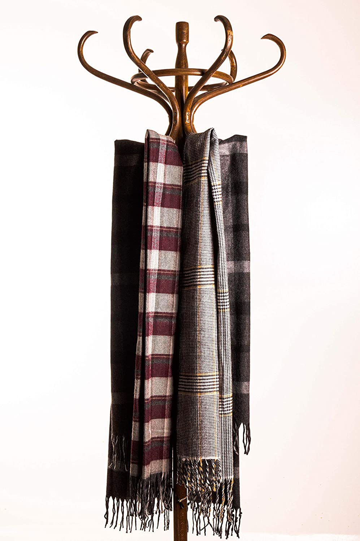 Sapphire S&F Luxurious Winter Scarf Cashmere Feel Unique Design Selection Scarf for Men & Women