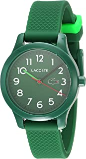 Lacoste Kid's Green Dial Rubber Band Watch - 2030001