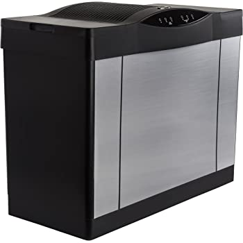 AIRCARE 4DTS 900 Whole House Console Evaporative Humidifier for 3600 sq. ft. - Silver