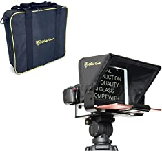 Glide Gear TMP100 Adjustable iPad/ Tablet/ Smartphone Teleprompter Beam Splitter 70/30 Glass w/ Carry Case No Plastic All ...