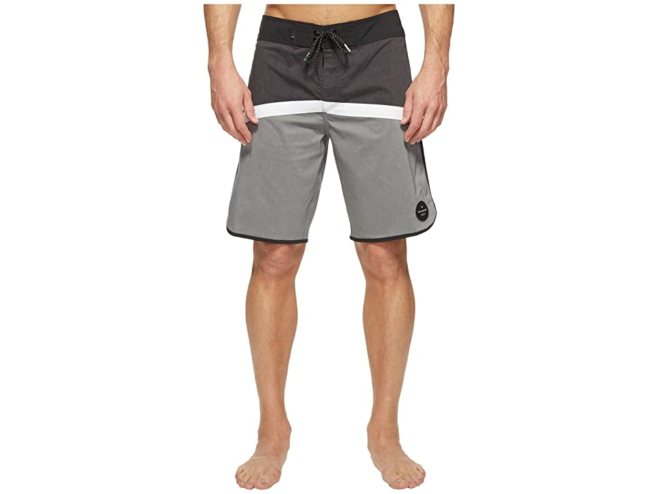 Quiksilver Crypto Scallop 20 Boardshorts (Black) Men