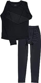 Boys Space Dye Long-Sleeve w/Thumbholes Thermal Long Underwear Set