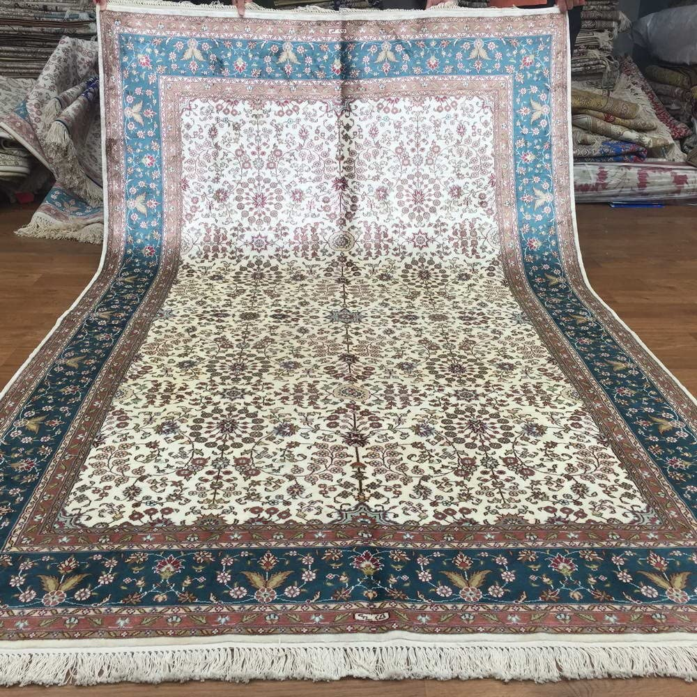 Yuchen Courier shipping free shipping New 5'x8' Handmade Turkish Area Hand Max 46% OFF Decorative Rugs Silk