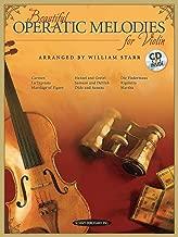 Beautiful Operatic Melodies for Violin: Book & CD