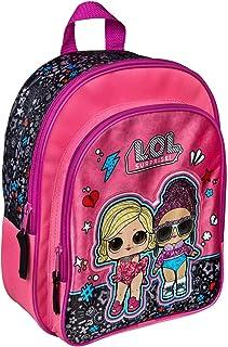 Undercover Rugzak met voorvak, LOL Surprise, voor school en vrije tijd, ca. 31 x 25 x 10 cm, roze