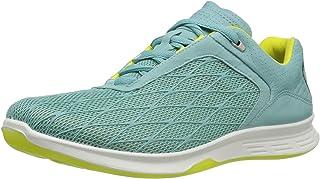 ECCO Women's Exceed Sport Fashion Sneaker Aquatic/Aquatic/Sulphur 41 EU/10-10.5 M US