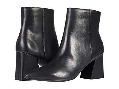 Steve Madden Nix Bootie (Black Leather) Women