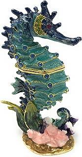 seahorse trinket box
