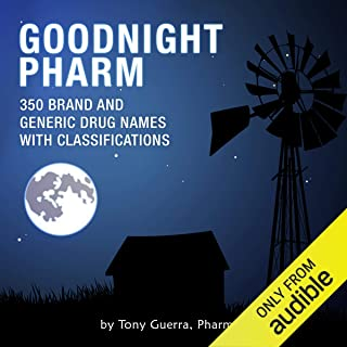 Goodnight Pharm: 350 Brand and Generic Drug Names with Classifications