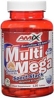 Amix Multi Mega Stack Vitaminas y Minerales, 162 gr