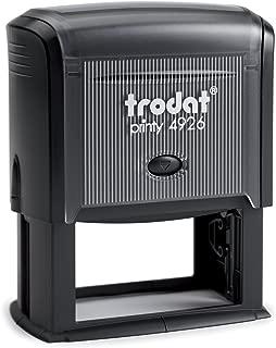 Trodat Printy 4926 Personalized Individual Custom Self Inking Stamp (1-1/2