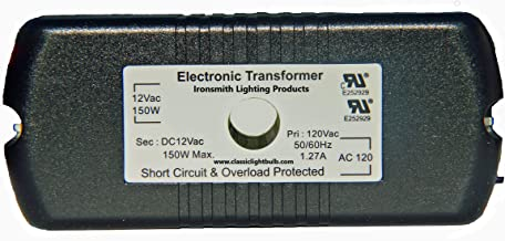 HC Lighting - Halogen / Xenon Electronic Transformer 50W 60W,75W, 105W, and 150 Watt Max output 120 Volt Input / 12 Volt O...