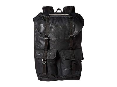 Herschel Supply Co. Buckingham (Black/Tonal Camo 1) Backpack Bags