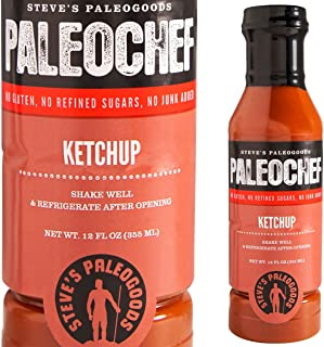 Steve`s PaleoGoods, PaleoChef Ketchup, 12 oz