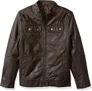 Urban Republic Men's Faux Leather Jacket