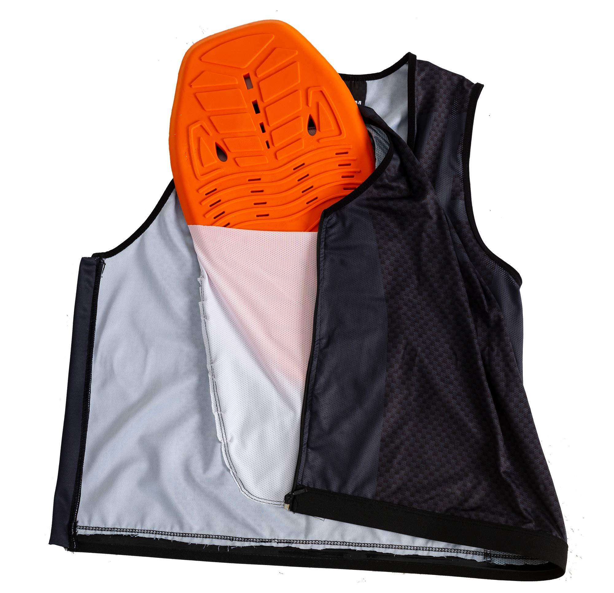 Clice Chaleco con protector de espalda homologado