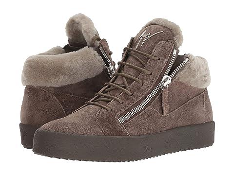 Giuseppe Zanotti May London Shearling Sneaker
