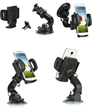 for LG G Stylo 2 LS775/G Stylus 2 K520, Mstechcorp. Heavy Duty Universal Car Mount Mobile Phone Holder Touch Windshield Dashboard Car Mount Holder (Car Mount)