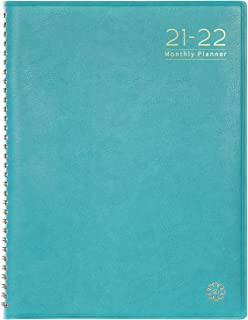 2020 Monthly Planner/Calendar - Monthly Planner 2020 with Tabs, Leather Calendar Planners, Twin-Wire Binding and Double Si...