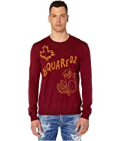 DSQUARED2 - Beaver Crew Neck Sweater