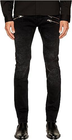 Just Cavalli - Destroyed Zipper Jeans