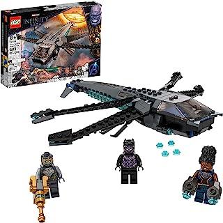 LEGO Marvel Black Panther Dragon Flyer 76186 Building Kit Toy؛ ایجاد صحنه نبرد نهایی از Avengers: Endgame؛ جدید 2021 (202 قطعه)