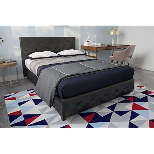 Full Size Platform Bed With Drawers Amazon Com