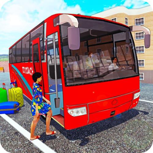 Condução de ônibus moderna: treinador de montanha lidando com o 2020 Real Bus Handling Simulator