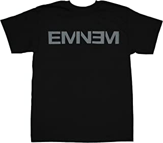 Eminem New Logo Adult Men's Black T-Shirt