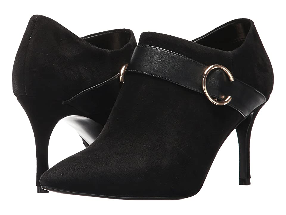 Nine West Megaera (Black/Black Suede) Women