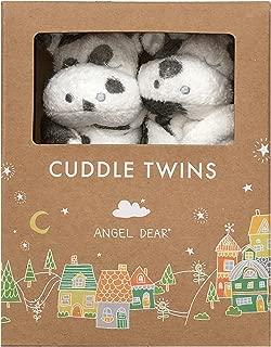 Angel Dear Cuddle Twins Blankies Gift Box. (Cow)