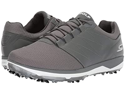 Skechers GO GOLF Pro 4 Honors (Charcoal) Men