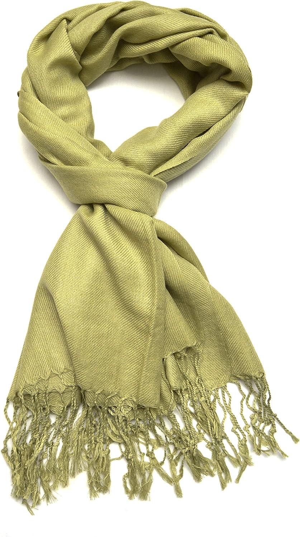 Gelante Max 53% OFF Plain Elegant Soft Pashmina Shawl Wrap Scarf Colors. Solid