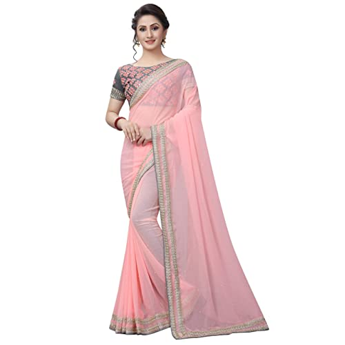 02e7dfe55ea2b Plain Sarees with Designer Blouses  Buy Plain Sarees with Designer ...